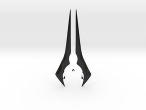 Energy Sword in Matte Black Porcelain