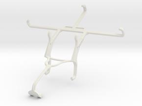 Controller mount for Xbox 360 & Lava X50 in White Natural Versatile Plastic