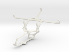 Controller mount for Steam & Lava X50 - Front in White Natural Versatile Plastic