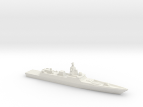 Admiral Gorshkov-class frigate, 1/2400 in White Strong & Flexible
