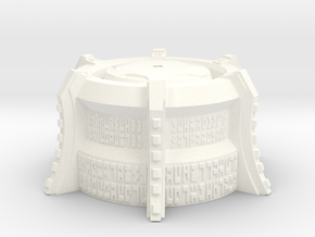 Bionicle Gen2 Mask Pedestal in White Strong & Flexible Polished