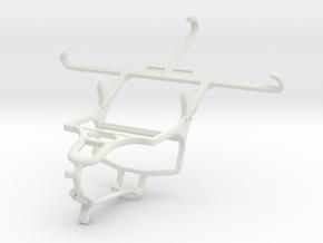Controller mount for PS4 & Lenovo ZUK Z2 Pro in White Natural Versatile Plastic
