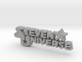 Steven Universe Logo in Aluminum