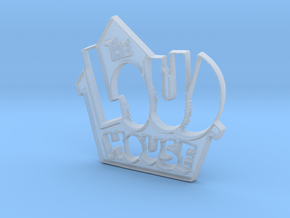 Loud House Logo in Smooth Fine Detail Plastic