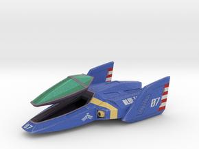 Blue Falcon (F-Zero) in Full Color Sandstone