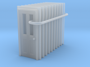 Door Type 6 - 810 X 2000 X 10 in Smooth Fine Detail Plastic: 1:148