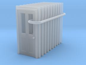 Door Type 6 - 900 X 2000 X 10 in Smooth Fine Detail Plastic: 1:160
