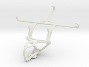 Controller mount for PS3 & Meizu m1 metal in White Natural Versatile Plastic