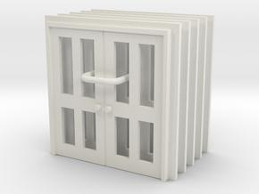Door Type 8 - 900D X 2000 X 5 in White Natural Versatile Plastic: 1:76