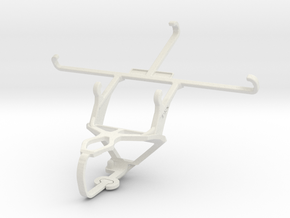 Controller mount for PS3 & Meizu m3e in White Natural Versatile Plastic