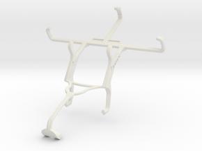 Controller mount for Xbox 360 & Motorola Moto E Du in White Natural Versatile Plastic