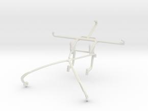 Controller mount for Shield 2015 & Motorola Moto Z in White Natural Versatile Plastic