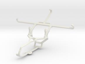 Controller mount for Steam & Motorola Moto Z Play  in White Natural Versatile Plastic