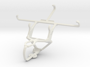 Controller mount for PS3 & Panasonic Eluga I2 (201 in White Natural Versatile Plastic