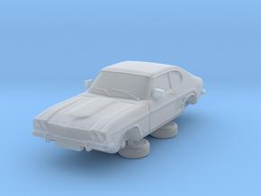 1-87 Ford Capri Mk1 3L in Smooth Fine Detail Plastic