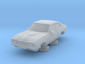 1-76 Ford Capri Mk2 3L in Smooth Fine Detail Plastic