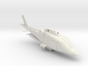011C - A109 HO Scale in White Natural Versatile Plastic
