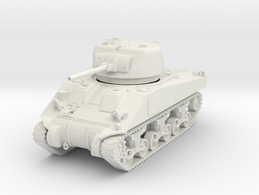 PV142A M4 Sherman (Early Production) (28mm) in White Natural Versatile Plastic