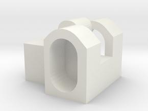 S.R.U scar-L bullpup kit RA-tech triggerlink in White Natural Versatile Plastic