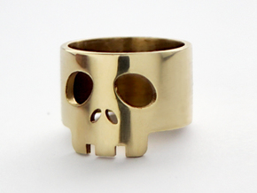 Bawd Band US 4.25 in Polished Brass: 4.25 / 47.125