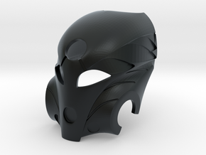 Kanohi Mask of Healing in Black Hi-Def Acrylate