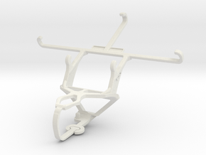 Controller mount for PS3 & Sony Xperia Z5 Dual in White Natural Versatile Plastic
