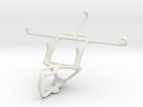 Controller mount for PS3 & Sony Xperia Z5 Premium  in White Natural Versatile Plastic
