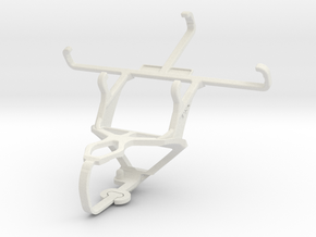Controller mount for PS3 & verykool s4007 Leo IV in White Natural Versatile Plastic