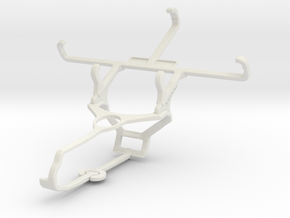 Controller mount for Steam & verykool s4007 Leo IV in White Natural Versatile Plastic