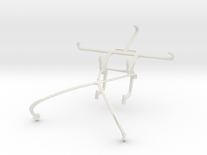 Controller mount for Shield 2015 & verykool s5020  in White Natural Versatile Plastic