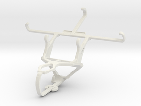 Controller mount for PS3 & verykool SL4502 Fusion  in White Natural Versatile Plastic