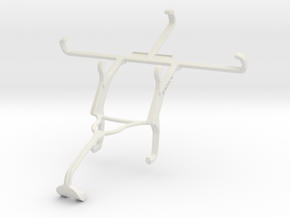 Controller mount for Xbox 360 & verykool SL4502 Fu in White Natural Versatile Plastic