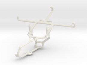 Controller mount for Steam & Vodafone Smart prime  in White Natural Versatile Plastic