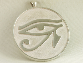 eye of horus in White Natural Versatile Plastic