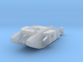 1/144 Mk.I Male tank in Smooth Fine Detail Plastic