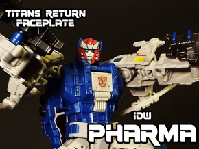 Pharma Faceplate (Titans Return Compatible) in Frosted Ultra Detail