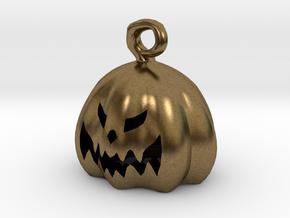Mini Pumpkin  in Natural Bronze