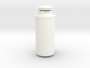 Rey's Backpack Canister in White Strong & Flexible Polished