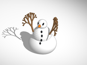 The Snowman revised and fixed in Full Color Sandstone