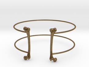 Bracelet in Natural Bronze