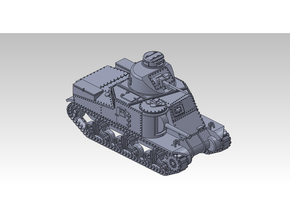 1/120 M3 LEE Medium Tank in Smooth Fine Detail Plastic