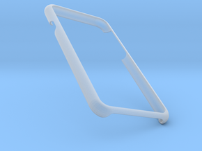 Iphone 7 Simple Frame in Smooth Fine Detail Plastic