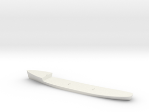 Agassiz Hull in White Natural Versatile Plastic