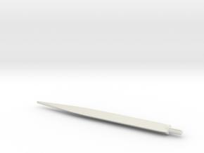 Lance Blade  in White Natural Versatile Plastic