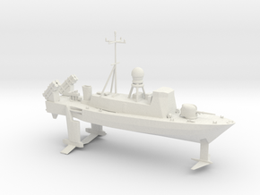 1/285 Scale USS PHM Pegasus Class Hydrofoil in White Strong & Flexible
