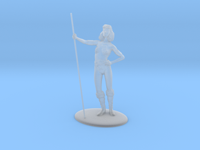 Diana (Acrobat) Miniature in Frosted Ultra Detail