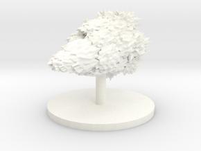 Indweller Vessel in White Processed Versatile Plastic
