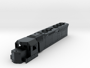 TT Scale SD45 shell in Black Hi-Def Acrylate