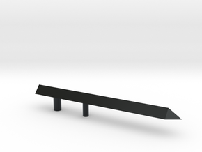 NEEDLE2 in Black Hi-Def Acrylate