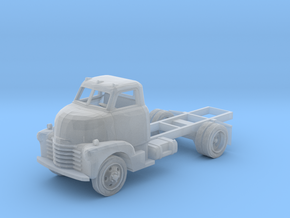 N-Scale Early '50s Chevy COE Truck in Smoothest Fine Detail Plastic